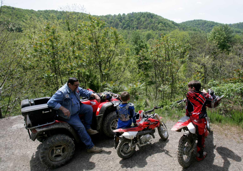 Group Enjoying View