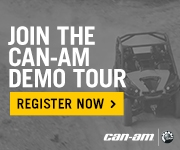 Join the Can Am Demo Tour