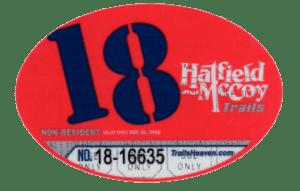 2018 Non Resident Permit