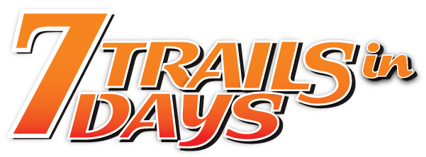 7 Trails In 7 Days Text