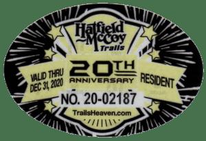 2020 Resident Permit