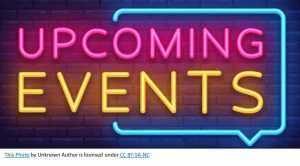 Upcoming Events Image